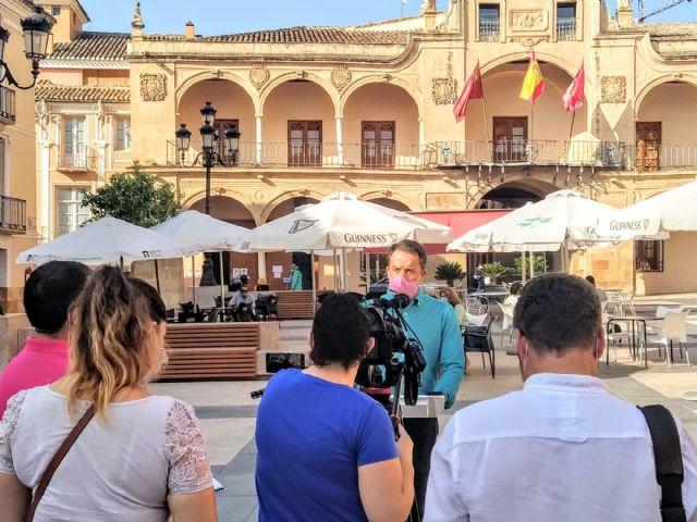 Fulgencio Gil: para frenar el Covid en nuestro casco urbano tenemos que recuperar el espíritu de compromiso social que mostramos frente al terremoto - 1, Foto 1