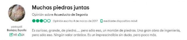 Las hilarantes -e injustas- opiniones online a monumentos españoles - 1, Foto 1