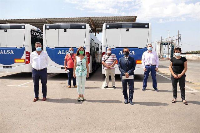 Todos los empleados del transporte público de Cartagena se han incorporado ya a sus puestos de trabajo - 1, Foto 1