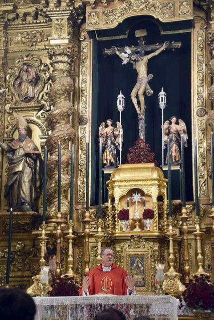 La Hermandad Penitencial del Santísimo Cristo de la Vera+cruz, de Sevilla cumplió con la celebración de la Exaltación de la Santa Cruz - 1, Foto 1
