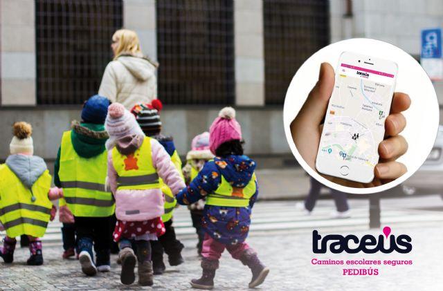 Caminar al colegio es más fácil y seguro gracias a traceus-pedibús - 1, Foto 1