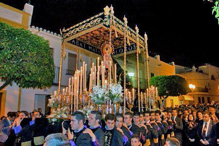 La formación de la BCT Santísimo Cristo de la Victoria de León acompañará sus sones en el paso del Cristo Yacente de la Misericordia de Alcalá del Río - 1, Foto 1