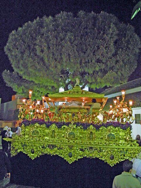 La formación de la BCT Santísimo Cristo de la Victoria de León acompañará sus sones en el paso del Cristo Yacente de la Misericordia de Alcalá del Río - 3, Foto 3