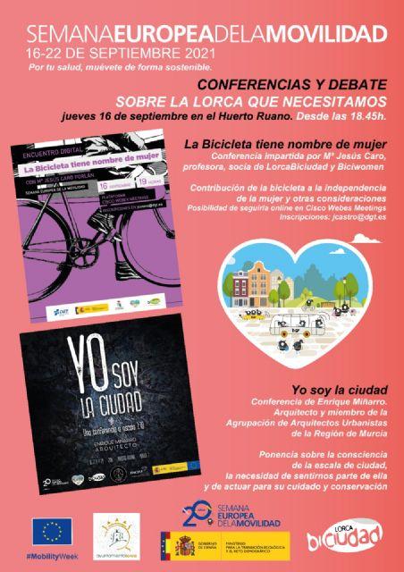 El Ayuntamiento de Lorca y Lorca Biciudad organizan varias actividades con motivo de la de la Semana Europea de Movilidad que se celebrará del 16 al 22 de septiembre - 1, Foto 1