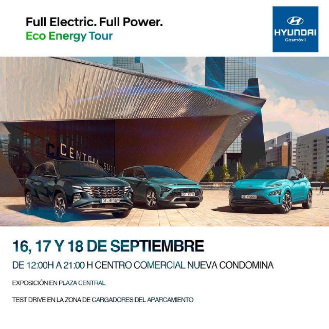 Hyundai Gásmovil presenta en Murcia la última tecnología en coches eléctricos a través del evento Eco Energy Tour - 1, Foto 1