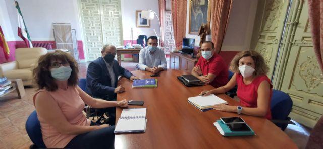 N.P. El Alcalde de Cehegín y el Presidente de UCOMUR se reúnen para potenciar el cooperativismo en la localidad - 1, Foto 1