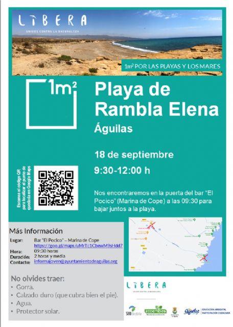 El Ayuntamiento de Águilas se suma al proyecto Libera-Unidos contra la basuraleza - 1, Foto 1