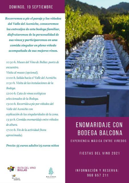 El nombramiento de Maestro del Vino de Bullas primer acto de las Fiestas del Vino 2021 - 1, Foto 1