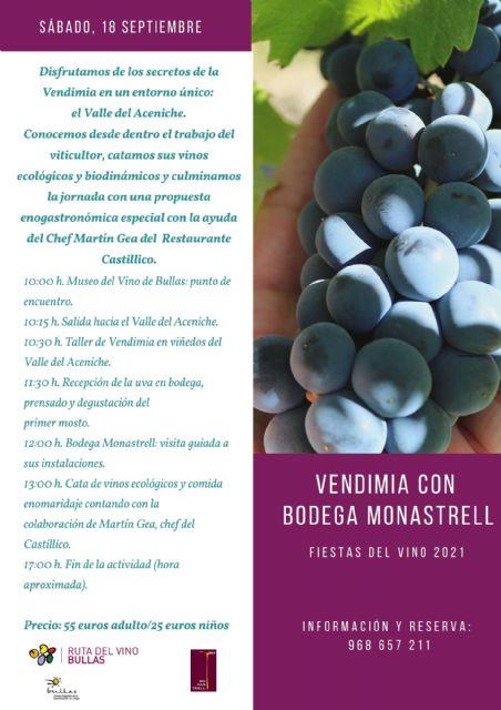 El nombramiento de Maestro del Vino de Bullas primer acto de las Fiestas del Vino 2021 - 3, Foto 3