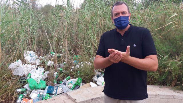 El PP exige una intervención de choque para limpiar el barrio de San Juan y el lecho del río - 3, Foto 3