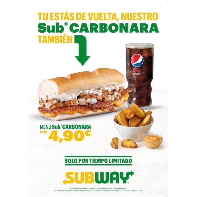 Subway llena de sabor la vuelta a la rutina - 1, Foto 1