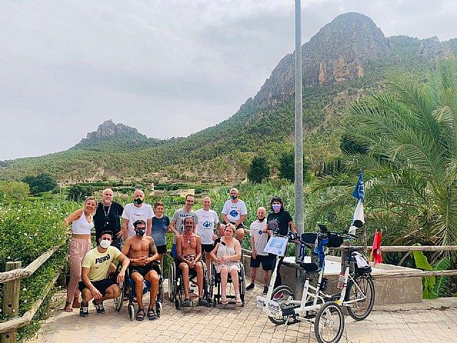 El Ayuntamiento de Cieza presta apoyo a 13 personas de la Asociación DisCamino que realizan la ruta Enlace de caminos - 1, Foto 1