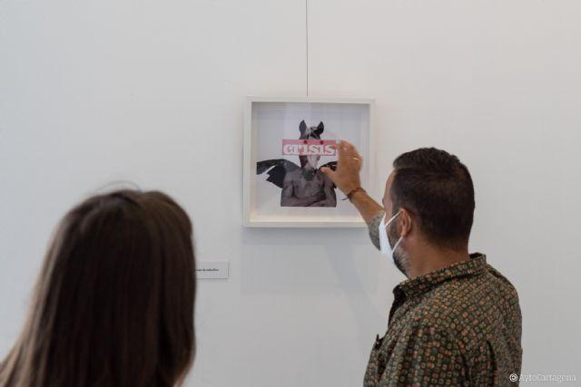 La Sala Subjetiva del Palacio Consistorial se llena de collages digitales de la artista cartagenera kbrevag - 1, Foto 1