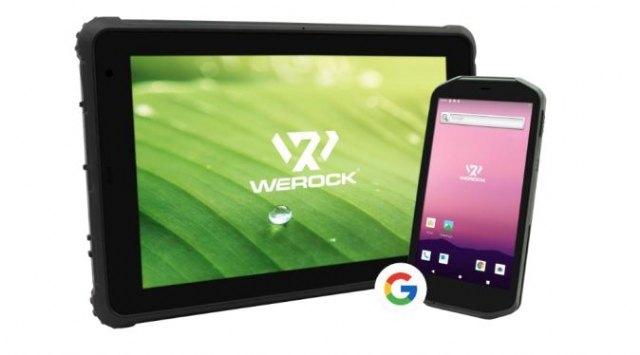 Los terminales portátiles robustos WEROCK reciben los servicios de Google - 1, Foto 1