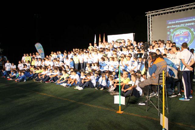 El Unión Archena FC cuenta ya con una veintena de equipos de todas las categorías. Ayer se presentaron en público - 1, Foto 1
