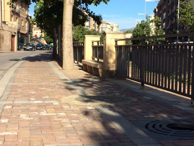 The repair works for the clogged sewer sections on Rambla de La Santa Avenue are finished