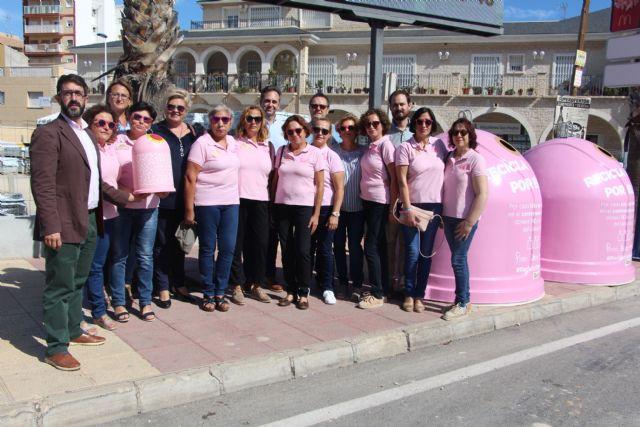 San Pedro del Pinatar se suma a la campaña Recicla Vidrio por Ellas con motivo del Día Mundial del Cáncer de Mama - 1, Foto 1