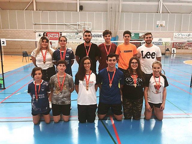 Primer torneo de la temporada para los jugadores del Club Bádminton Aledo-Totana - 1, Foto 1