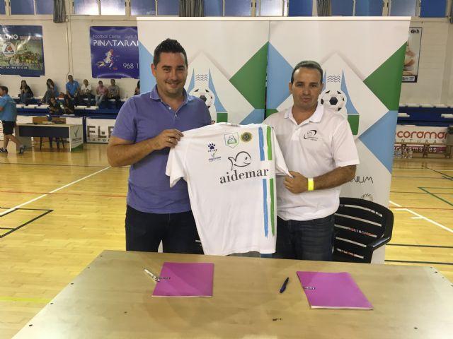 El CFS Pinatar y el CD Aidemar firman un acuerdo de colaboración entre ambas entidades - 2, Foto 2