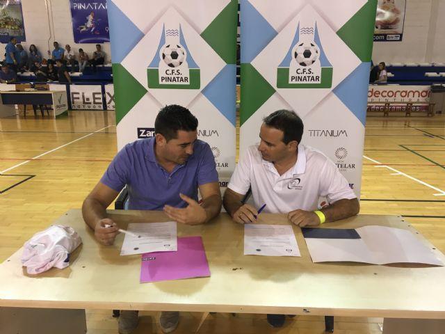 El CFS Pinatar y el CD Aidemar firman un acuerdo de colaboración entre ambas entidades - 3, Foto 3