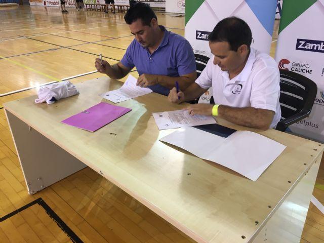 El CFS Pinatar y el CD Aidemar firman un acuerdo de colaboración entre ambas entidades - 4, Foto 4