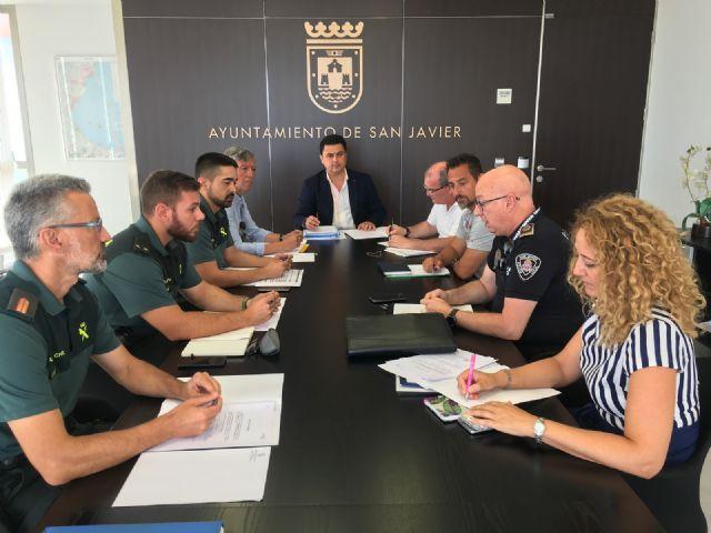 Desciende el número de delitos en San Javier - 1, Foto 1