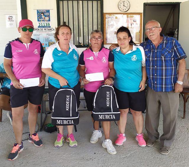 Las jugadoras del club de petanca La Salceda, campeonas y subcampeonas de la Copa Presidente 2019 - 4, Foto 4