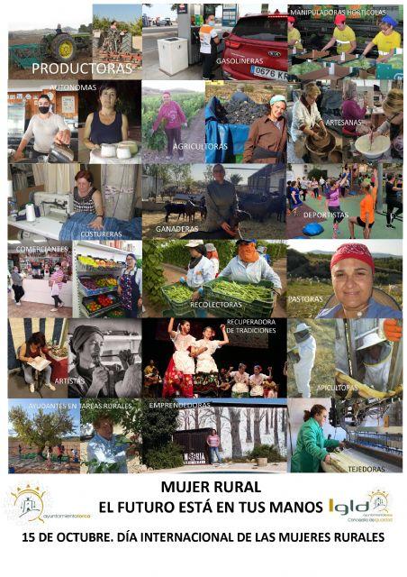 El Ayuntamiento de Lorca conmemora el Día Internacional de las Mujeres Rurales destacando el importante papel que juega este colectivo en la Sociedad - 2, Foto 2
