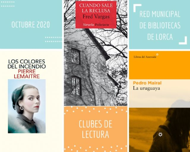 La Biblioteca Pilar Barnés abre el plazo de inscripción para formar parte del Club de Lectura Virtual de Lorca que se estrenará con la novela 'Los colores del incendio' - 1, Foto 1