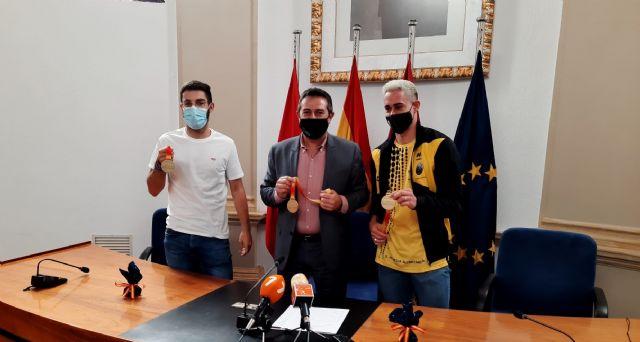 El alcalde recibe a los atletas Sergio López y Pedro Conesa - 1, Foto 1