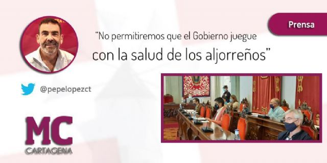 MC da voz a los vecinos de La Aljorra en el Pleno para poner la contaminación de esta diputación en la agenda del Gobierno municipal - 1, Foto 1