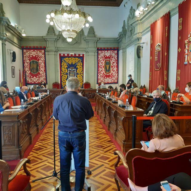 MC da voz a los vecinos de La Aljorra en el Pleno para poner la contaminación de esta diputación en la agenda del Gobierno municipal - 3, Foto 3