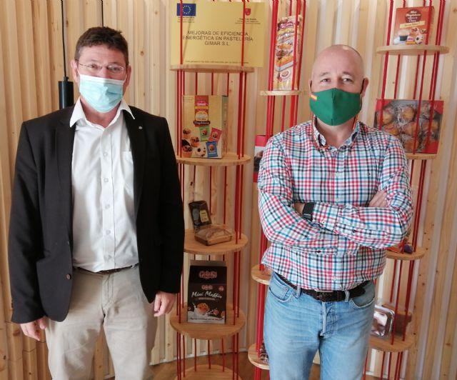 El Ayuntamiento de Molina de Segura conoce la empresa Pastelería Gimar SL, dedicada a la fabricación de productos de repostería, dentro de su agenda de visitas empresariales - 1, Foto 1
