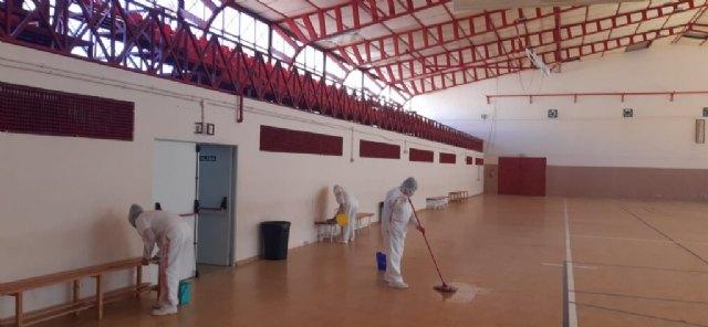 Las instalaciones del Polideportivo Municipal permanecerán cerradas este jueves por desinfección tras comunicarse el positivo de un usuario del pabellón - 1, Foto 1