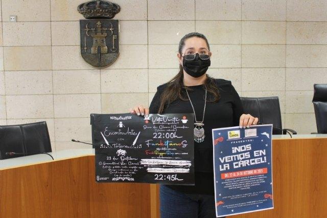 """Juventud organiza el ambicioso programa """"¡Nos vemos en La Cárcel!"""", que se celebrará en torno al Centro Sociocultural """"La Cárcel"""" del 22 al 24 de octubre"""