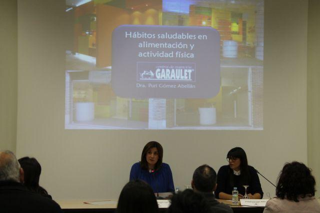 Interesantes datos los aportados por la bióloga Puri Gómez sobre alimentación en el segundo acto de las Jornadas sobre Salud - 1, Foto 1