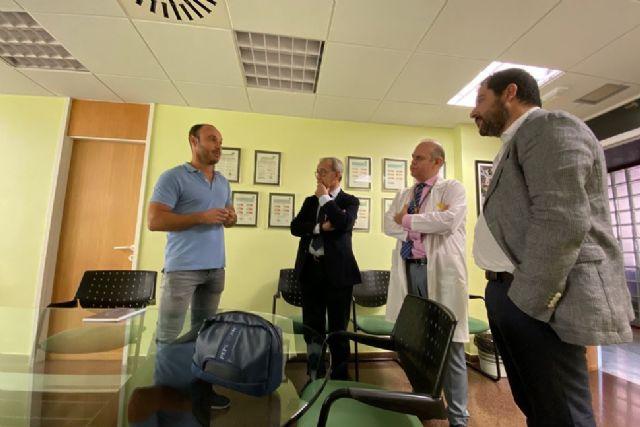 El observatorio de oportunidades de negocio de economía circular Amusal visita el hospital Arrixaca - 1, Foto 1