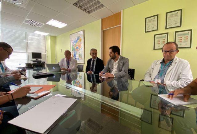 El observatorio de oportunidades de negocio de economía circular Amusal visita el hospital Arrixaca - 2, Foto 2