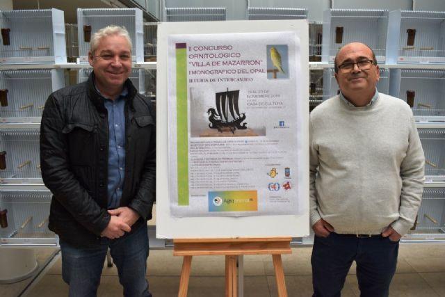 1400 ejemplares se darán cita en el II concurso ornitológico Villa de Mazarrón - 2, Foto 2