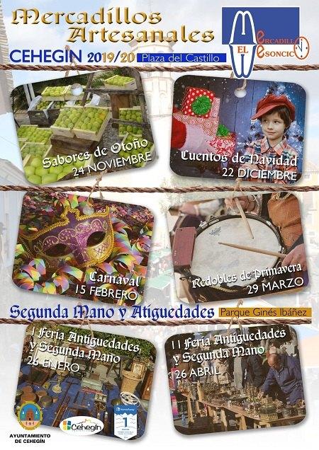 La nueva temporada del Mercadillo Artesanal El Mesoncico arranca el 24 de noviembre - 1, Foto 1
