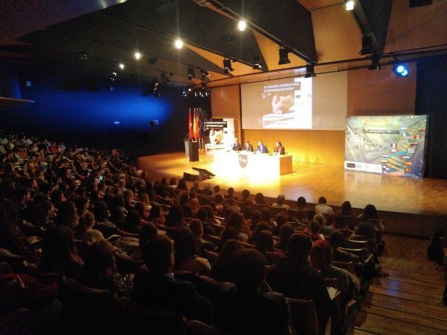 Setecientas cincuenta personas participan en el XII Congreso Internacional de Enfermedades Raras que se celebra en Murcia organizado por D´Genes