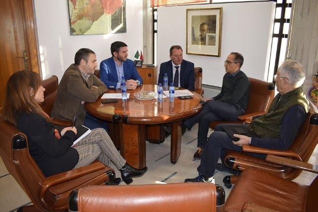 El consejero de Agua mantiene un encuentro con representantes de la Comunidad de Regantes - 1, Foto 1