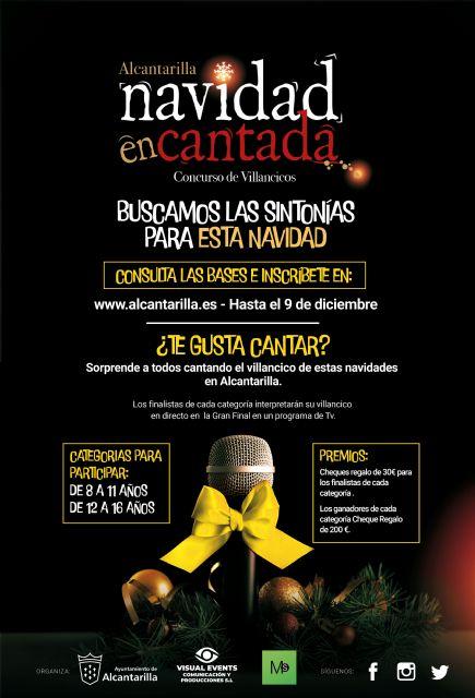 El concurso infantil de villancicos 'Navidad Encantada' busca la sintonía navideña para Alcantarilla - 1, Foto 1