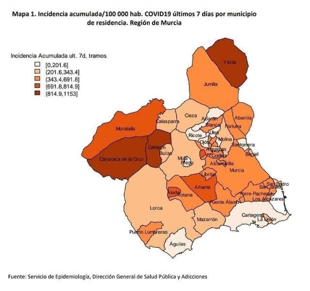 Totana suma 40 nuevos casos de Covid-19 en las últimas 24 horas - 1, Foto 1