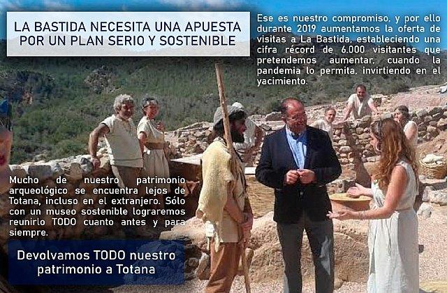 Ganar Totana: La Bastida necesita una apuesta por un plan serio y sostenible - 1, Foto 1