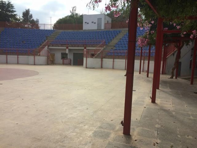 "They will ask the Autonomous Community financing to undertake the cover and closure of the auditorium of the municipal park ""Marcos Ortiz"" - 7"