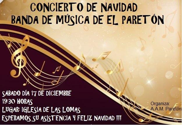La Banda de Música de El Paretón ofrecerá un concierto de Navidad, Foto 1