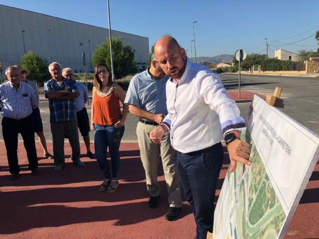 Fomento saca a licitación la construcción de una rotonda que mejorará la seguridad vial entre Beniel y el límite de provincia - 1, Foto 1