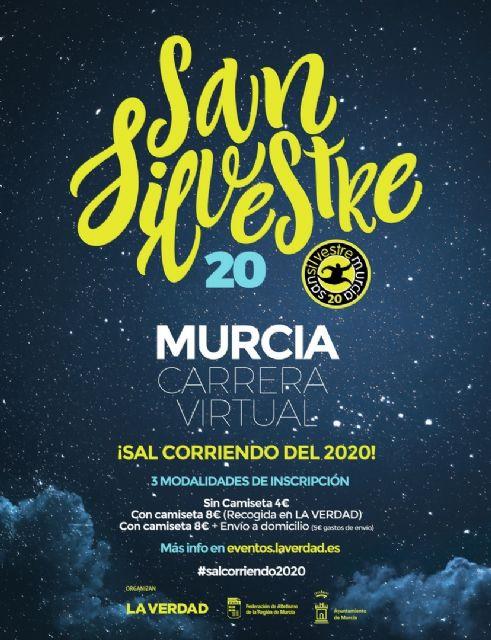 Del 21 al 31 de diciembre, cita virtual con la San Silvestre de Murcia - 1, Foto 1