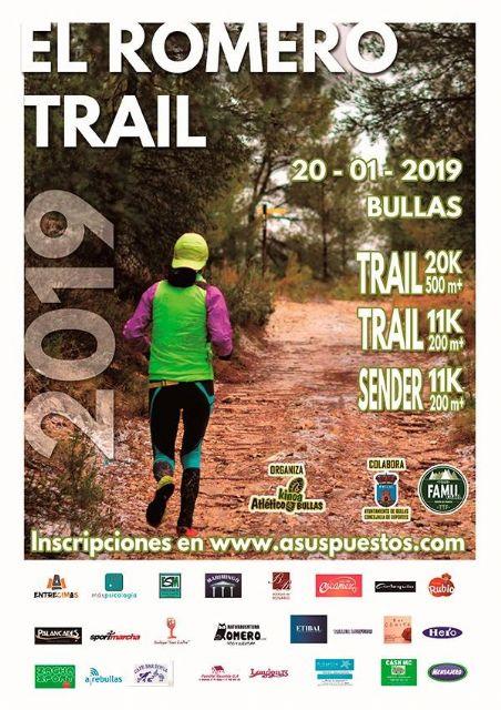 La V Trail El Romero contará con más de cuatrocientos participantes - 1, Foto 1